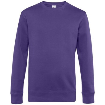 Textiel Heren Sweaters / Sweatshirts B&c WU01K Stralend paars