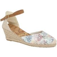 Schoenen Dames Sandalen / Open schoenen Cipriata  Wit/multikleurig