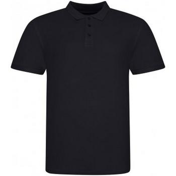 Textiel Heren Polo's korte mouwen Awdis JP100 Diep zwart