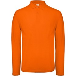 Textiel Heren Polo's lange mouwen B And C BA290 Oranje