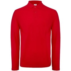 Textiel Heren Polo's lange mouwen B And C BA290 Rood