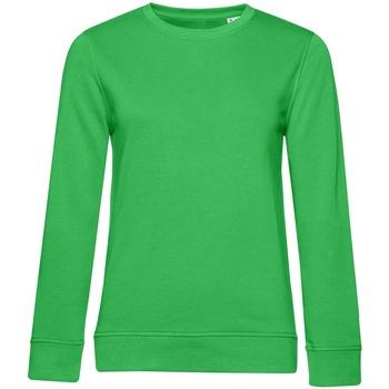 Textiel Dames Sweaters / Sweatshirts B&c WW32B Appelgroen