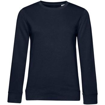Textiel Dames Sweaters / Sweatshirts B&c WW32B Marine