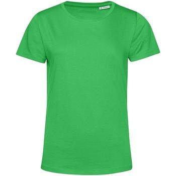 Textiel Dames T-shirts korte mouwen B&c TW02B Appelgroen
