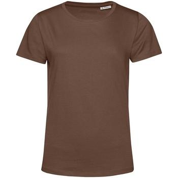 Textiel Dames T-shirts korte mouwen B&c TW02B Koffie