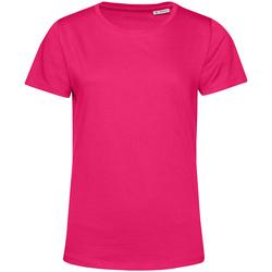 Textiel Dames T-shirts korte mouwen B&c TW02B Magenta