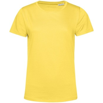 Textiel Dames T-shirts korte mouwen B&c TW02B Geel