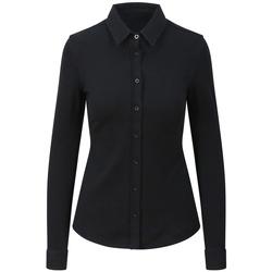 Textiel Dames Overhemden Awdis SD047 Zwart