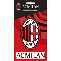 Wonen Stickers Ac Milan Taille unique Rood