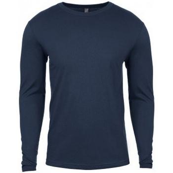 Textiel Heren T-shirts met lange mouwen Next Level NX3601 Indigoblauw
