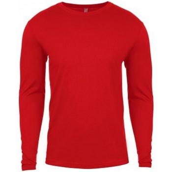 Textiel Heren T-shirts met lange mouwen Next Level NX3601 Rood