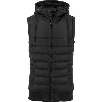 Textiel Heren Jacks / Blazers Build Your Brand BY046 Zwart/Zwart