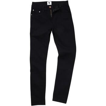 Textiel Heren Straight jeans Awdis SD04 Zwart