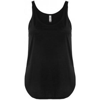 Textiel Dames Mouwloze tops Next Level NX5033 Zwart