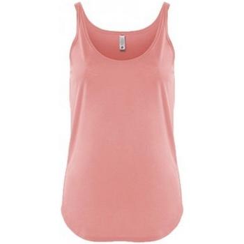 Textiel Dames Mouwloze tops Next Level NX5033 Woestijn Roze