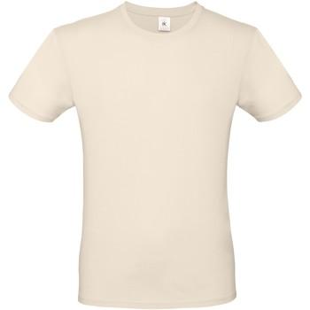 Textiel Dames T-shirts korte mouwen B And C BA210 Natuurlijk