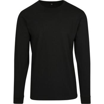 Textiel Heren Sweaters / Sweatshirts Build Your Brand BY091 Zwart