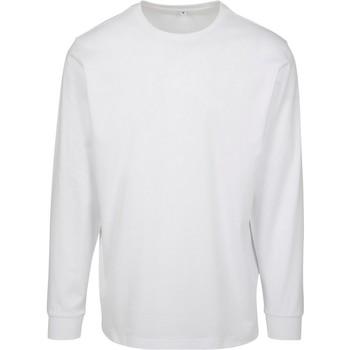 Textiel Heren Sweaters / Sweatshirts Build Your Brand BY091 Wit