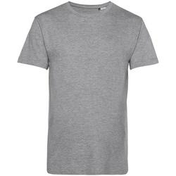 Textiel Heren T-shirts korte mouwen B&c BA212 Grijze Heide