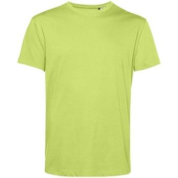 Textiel Heren T-shirts korte mouwen B&c BA212 Kalk groen