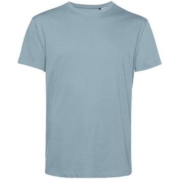 Textiel Heren T-shirts korte mouwen B&c BA212 Nevelig blauw