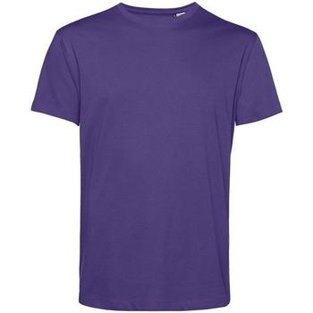 Textiel Heren T-shirts korte mouwen B&c BA212 Stralend paars