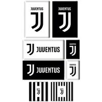 Wonen Stickers Juventus Taille unique Wit/Zwart