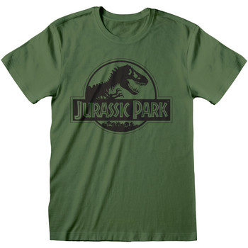 Textiel T-shirts korte mouwen Jurassic Park  Groen