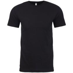 Textiel T-shirts korte mouwen Next Level NX6410 Zwart