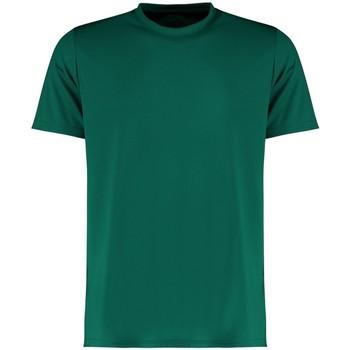 Textiel Heren T-shirts korte mouwen Kustom Kit KK555 Fles groen