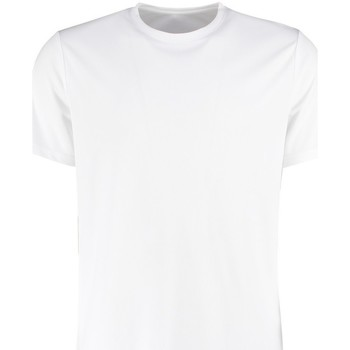Textiel Heren T-shirts korte mouwen Kustom Kit KK555 Wit
