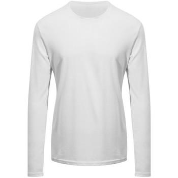 Textiel T-shirts met lange mouwen Awdis EA021 Arctisch Wit