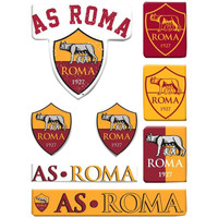 Wonen Stickers As Roma Taille unique Geel/Rood