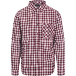 Textiel Heren Overhemden lange mouwen Trespass  Rood