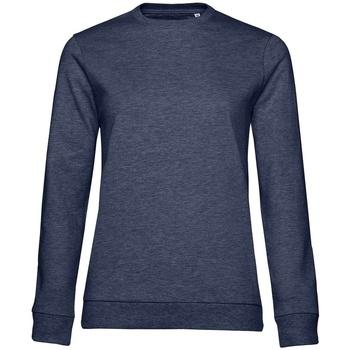 Textiel Dames Sweaters / Sweatshirts B&c WW02W Marine Heide
