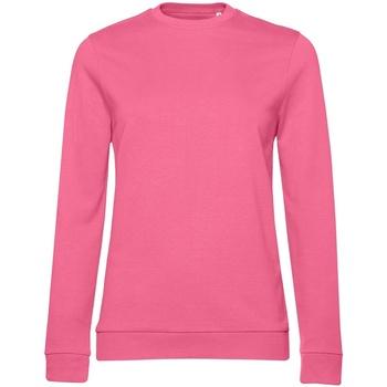 Textiel Dames Sweaters / Sweatshirts B&c WW02W Roze