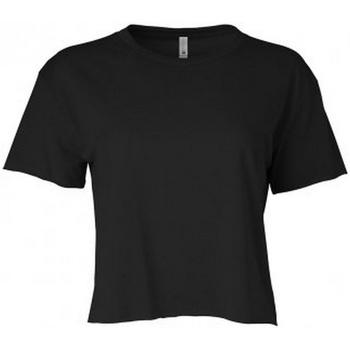 Textiel Dames T-shirts korte mouwen Next Level NX5080 Zwart