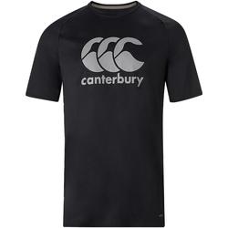 Textiel Heren T-shirts korte mouwen Canterbury  Zwart