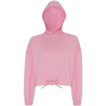 Textiel Dames Sweaters / Sweatshirts Tridri TR085 Lichtroze