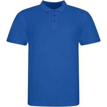 Textiel Polo's korte mouwen Awdis JP100 Koningsblauw