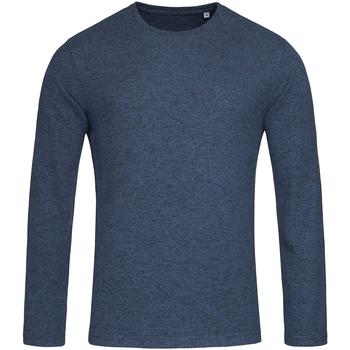 Textiel Heren Sweaters / Sweatshirts Stedman  Blauw gemêleerd