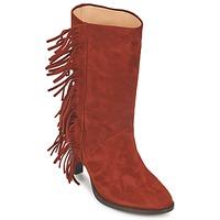 Schoenen Dames Hoge laarzen MySuelly GAD Roest