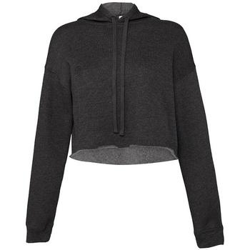 Textiel Dames Sweaters / Sweatshirts Bella + Canvas BL7502 Donkergrijze heide
