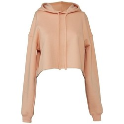 Textiel Dames Sweaters / Sweatshirts Bella + Canvas BL7502 Perzik