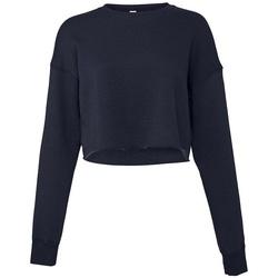 Textiel Dames Sweaters / Sweatshirts Bella + Canvas BL7503 Marine