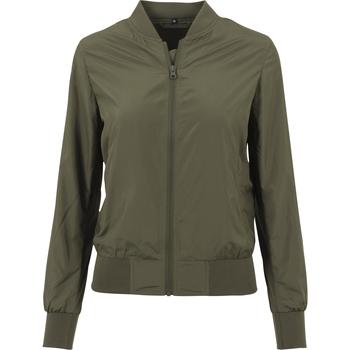 Textiel Dames Jacks / Blazers Build Your Brand BY044 Olijf