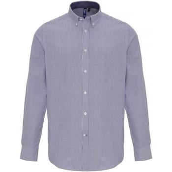 Textiel Heren Overhemden lange mouwen Premier PR238 Wit/Zwaar