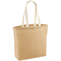 Tassen Dames Tote tassen / Boodschappentassen Westford Mill W458 Natuurlijk