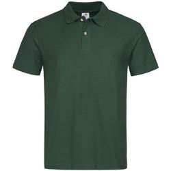 Textiel Heren Polo's korte mouwen Stedman  Fles groen