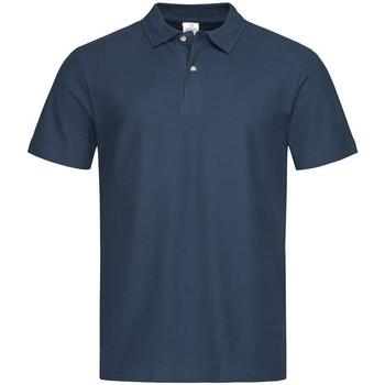 Textiel Heren Polo's korte mouwen Stedman  Marine